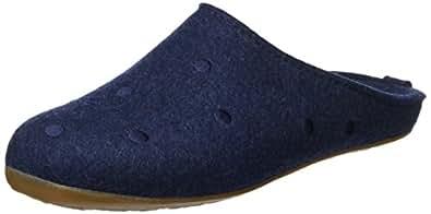 Haflinger Unisex-Erwachsene Everest Noblesse Pantoffeln, Blau (Kapitän 79), 41 EU