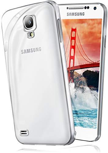 moex Samsung Galaxy S4 Mini   Hülle Silikon Transparent Klar Clear Back-Cover TPU Schutzhülle Dünn Handyhülle für Samsung Galaxy S4 Mini Case Ultra-Slim Silikonhülle Rückseite