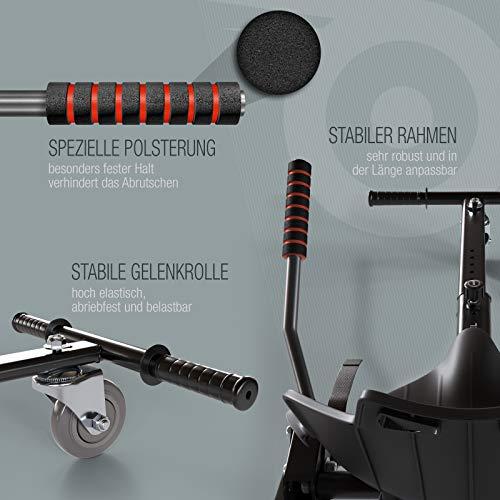 Bluewheel Hovokart HK200 Sitz Erweiterung für 6, 5 – 10 Zoll Hoverboard, E-Kart, Elektro Go-Kart, Sitzaufsatz, Schalensitz & Umbausatz, anpassbarer Stahl-Rahmen - 6