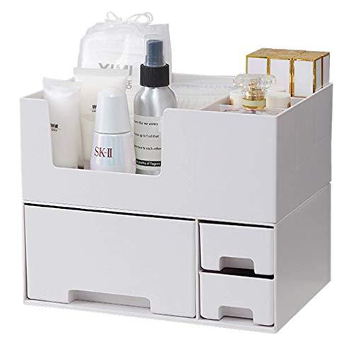agement Rack Parfüm Display Ständer Stereo Make-Up Box Kosmetik Organisation Aufbewahrungsbox Schublade Rack Schmuck Finishing Aufbewahrung Kosmetik Rack (Farbe: Weiß, Größe: 24, ()