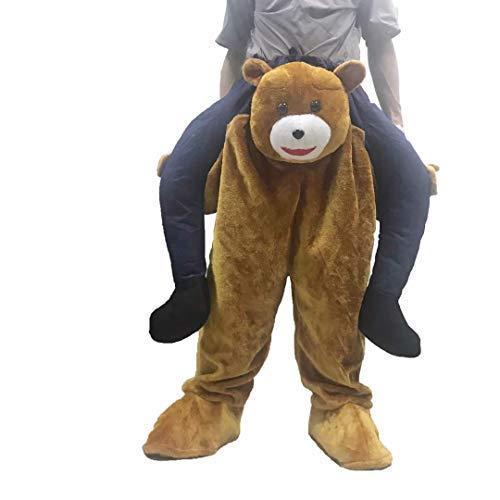 Kostüm Tier Beine - Bärenkostüm. reite mich tragen erwachsene Unisex-Kostüme. falsche Beine, Partyoutfit. Kostümstütze Zubehör. Hirschparty Tier