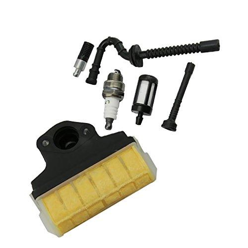 MagiDeal Luftfilter Und Kraftstofffilter Ölfilter Benzin Schlauch Für STIHL 021 023 025 MS210 MS230 MS250 Trimmer Strimmer Freischneider