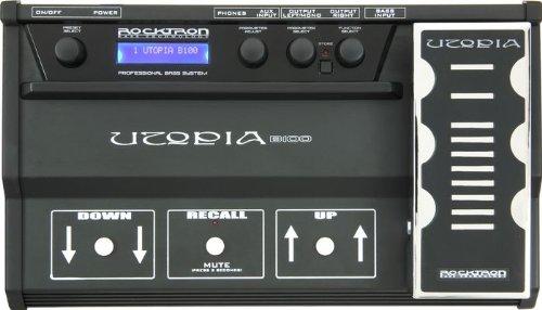 Rocktron Utopia B100Multieffektgerät Bass 128Presets Übertragt, 64Programmierbare