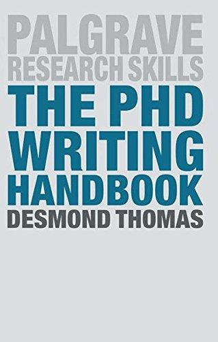 The PhD Writing Handbook par Desmond Thomas