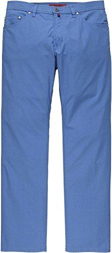 Pierre Cardin Sommerliche Stretch Jeans, Deauville, rot 250/63 Blau