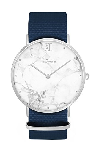 New Trend - Love for Accessories Damen Uhr analog Quarzwerk mit Nylon Armband OG-JZ66-7SHN