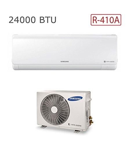 Samsung SSGWKMONO010 Monosplit New Style 24000 Btu R410A, Bianco