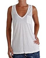 MASONS Damen Träger-Shirt Splendid White 4MA3120MA.001