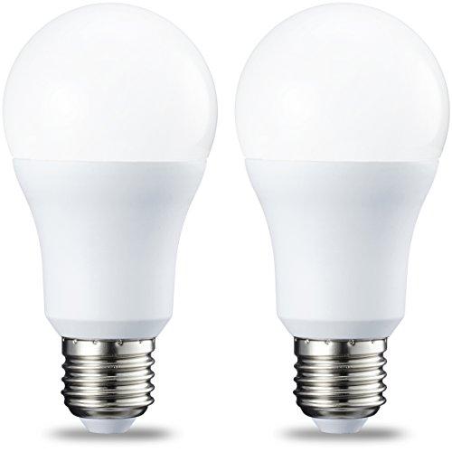 10.5 W Led (AmazonBasics E27 LED Lampe, 10.5W (ersetzt 75W), warmweiß, 2er-Pack)