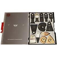 18x topstools SW _ wxk18Mix–Juego de caja de cuchillas para Worx Sonicrafter, Worx 250W multiherramienta, Erbauer Multi herramienta accesorios