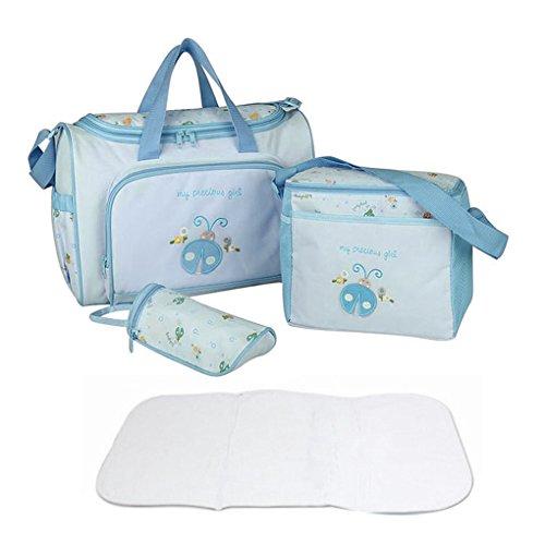 Travel-Borsa per pannolini, borsa per pannolini Baby Nappy Changing Bags-Organizer per borsa per il cambio, Mummy-Borsa Tote-Borsa a spalla, zaino, borsa da viaggio, Organiser per pannolini