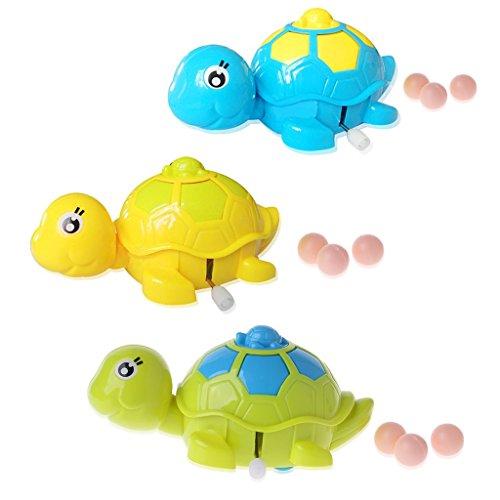 Guoyy Nette Baby-Tierschildkröte-Schildkröte-Bildung Spielt Uhrwerk Wind-up Scherzt lustiges Spielzeug