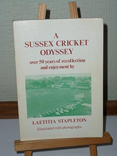 Sussex Cricket Odyssey
