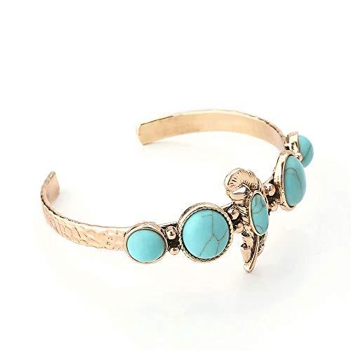 Preisvergleich Produktbild 2019 Waymeduo Turquoise Armband-Brautbrautjungfer der Mode neue Armband