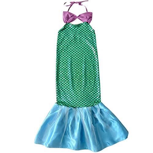Kleine Kostüm Erwachsene Für Disney Meerjungfrau - tirdds Meerjungfrau-Kostüm für Halloween, Kostüme für Urlaub, Geburtstag, Cosplay Gr. XX-Large, grün