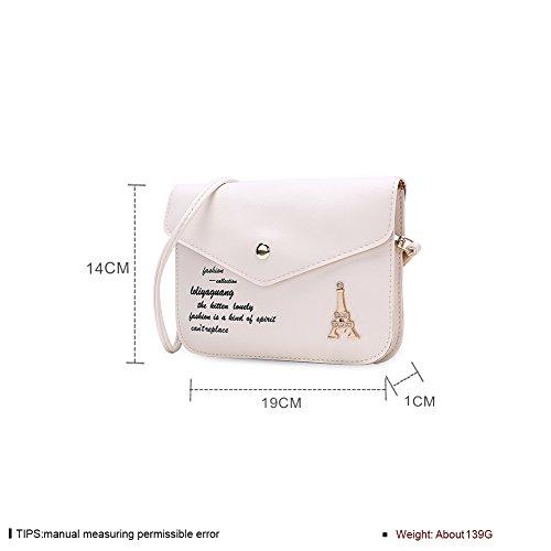 Faysting EU donna fashion borsa a tracolla donna borsa a spalla vari colori scelgliere elegante pelle stile buon regalo san valentino B