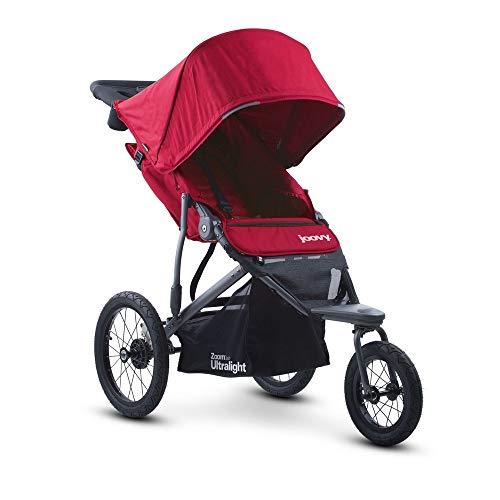 Joovy Zoom 360 Ultralight Jogging Kinderwagen, Rot