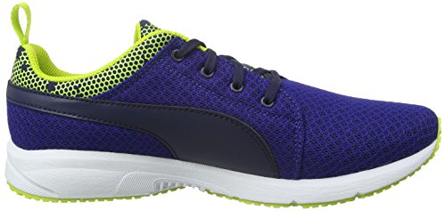 Puma Carson Night Camo, Multisport Outdoor Garçon Bleu (Mazarine Blue/Peacoat)