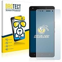 BROTECT AirGlass Protector Pantalla Cristal Flexible Transparente para BQ Aquaris M5.5 Protector Cristal Vidrio - Extra-Duro, Ultra-Ligero, Ultra-Claro