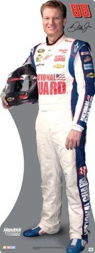 Dale Jr Guard (Dale Earnhardt Jr. National Guard #88 Nascar Miniature Cardboard Cutout Standee Standup by Team Image)