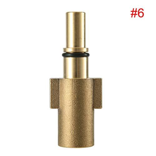 Fannty Adapter Kompatibel für Auto Waschen Sprayer Pistole Schneeschaum Lance Soap Bottle Gun Adapter - Black & Decker Sprayer