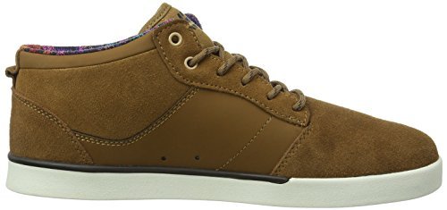 Etnies Jefferson Mid, Baskets mode homme Marron (Brown)