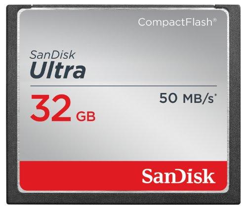 Gb 16 Flash-speicherkarte (SanDisk Ultra CompactFlash UDMA7 32GB bis zu 50MB/Sek Speicherkarte)
