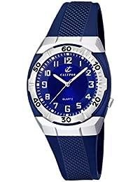 Reloj  Calypso Para Hombre Con  Azul  Y Azul Plástico K5215/3