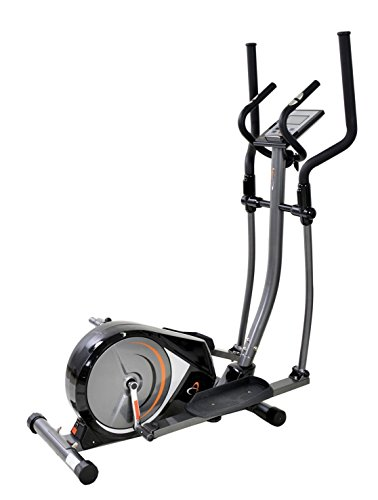The Gym Life Stylish Modern Programmable Magnetic Cross Trainer For Cardiovascular Fitness & Tones Upper and Lower body, LCD Monitor With 19 Programmes & Display, Plus 1 Year Warranty, RRP £450