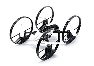 6 Axis 4 Channel (4CH) 2.4GHz Radio Controlled RC CF908 Stunt Quadcopter Drone - Ready to Fly (RTF), Does flips, spins and stunts from Magic Stores