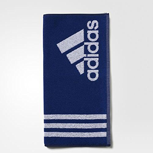 adidas Towel L Handtuch, Mystery Ink/White, One Size