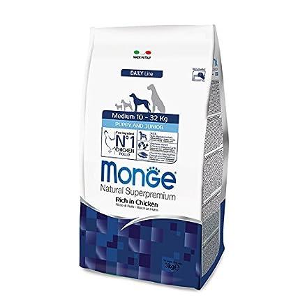 Monge Cane Puppy And Junior Medium 12 kg