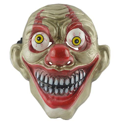 Augapfel Maske Kostüm - Amosfun Halloween Clown Maske Halloween Party