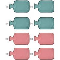 8x Wärmflasche aus Gummi 1 Liter | Wärmeflasche Wärmekissen | Wärme Flasche | Bettflasche preisvergleich bei billige-tabletten.eu