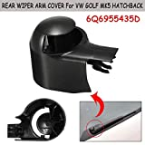 RAISSER® Car Rear Wiper Arm Nut Cover Cap for VW MK5 Golf Passat Caddy Tiguan Touran Hatchback for Seat Leon for Skoda Fabia 6Q6955435D
