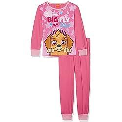 Paw Patrol Girl's Long Pyjama Sets, (Fuxia/Pink), 5 Years