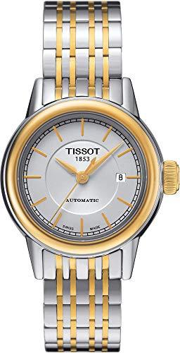 TISSOT - Montre Femme Tissot Carson Automatique T0852072201100 Bracelet En Acier - T0852072201100