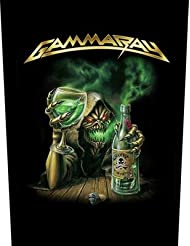 GAMMA RAY, Absinth - Backpatch