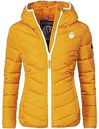 Navahoo Damen Winterjacke Steppjacke Elva 17 Farben XS-XXL