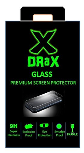 Tempered Glass Screen Scratch Protector Guard for Redmi Note 4G with Flat Edges(Clear)