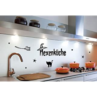 Alenio Art Wall Saying Witch's Kitchen–Sheet Size: 67x23,5cm