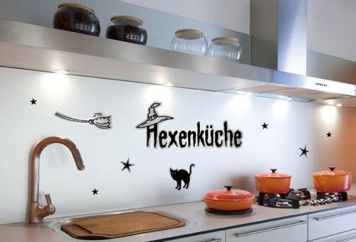 Wandsticker / Wandspruch – Hexenküche – Bogengröße: 67×23,5 cm