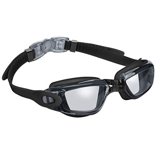 SODIAL Schwimm Brille, Keine Undichte Anti Beschlag Uv Schutz Schwimm Brille Für M?nner Frauen Erwachsene Jugend Kinder (über 6 Jahre Alt)