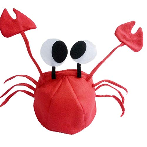 Bontand Kinder Hat Krabben-Hüte Neuheit Cap Lustige Kinder-Kostüm