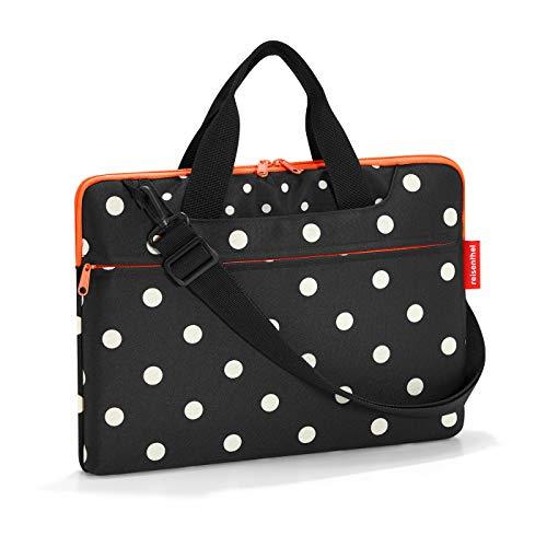Reisenthel netbookbag Laptop Rollkoffer, 40 cm, 5 Liter, Mixed Dots