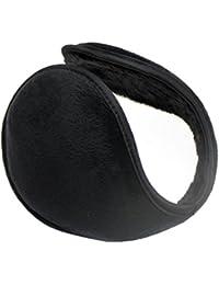 Orejeras de Ritche Unisex Earwarmers invierno cálido detrás de cabeza de envoltorio de esquí Grip (Negro)