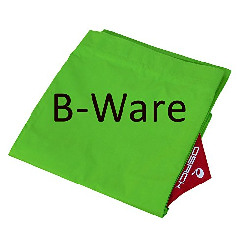 B-Ware QSack Outdoorer Sitzsack Bezug ohne Füllung, Outdoor Sitzsack Bezug 2. Wahl,140 x 180 cm (apfelgrün)