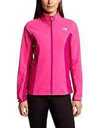 THE NORTH FACE Softshell Jacke Nimble - Soft shell para mujer, color rosa, talla L