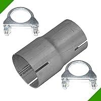 Reparaturrohr Auspuff X-Rohr X-Rohr Adapter n Ø 60mm Rohrverbinder