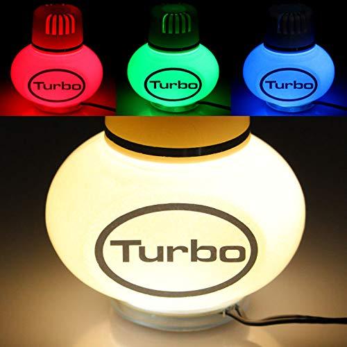 Poppy Aire Ambientador Jazmín con 7colores LED multicolor de iluminación 12V 24V para camiones coche caravana Volumen 150ml
